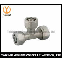 T-Joint Forged Fittings with 3 Nuts for Pex-Al-Pex (YS3312)