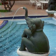 High quality bronze elephant garden fountain for sale