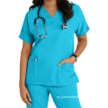 Krankenschwestern Plus Size Frauen Medical Scrub Tops