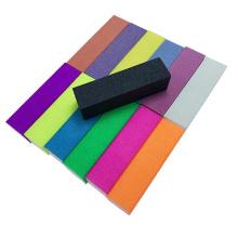 Nail Beauty Salon 150 Grit Nail File Mini Buffer Square Yellow fluorescence sanding block
