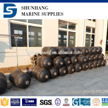 Durable marine rubber pneumatic small size ship fender