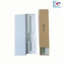Sencai vente chaude personnalisé taille unique montre poignet rectagle boîte de papier avec insert EVA