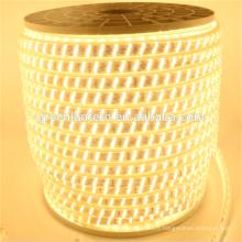 Nouveau Super lumineux ligne triplex 2835 intérieure flexible extérieure bande led 220v
