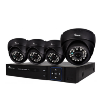 Outdoor-IR-Nacht Full HD AHD CCTV-Kit