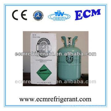 gaz réfrigérant gaz r134a 500g cylindre avec une bonne qualité