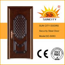 Stahlgatehouse-Sicherheitstüren