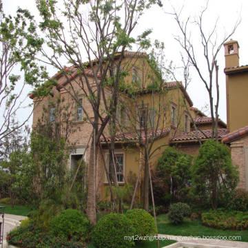prefabricated living homes light steel structure villas
