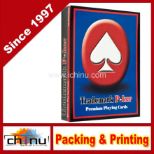 Marken Premium Rote Spielkarten (430195)