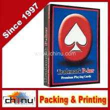 Cartões de jogo vermelhos superiores da marca registrada (430195)