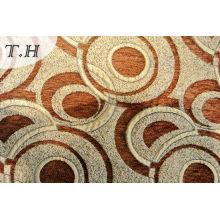 2016 The Orange Circle Jacquard Fabric Sofa by 310GSM