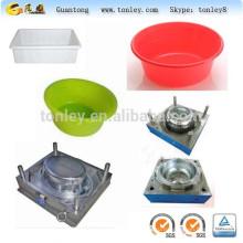 Горячеканальной, различные формы, Тазики пластмассовые крупномасштабной инъекции плесень чайник