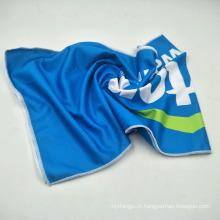 logotipo personalizado impressão disponível toalha de gelo de refrigeração com garrafa PET