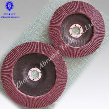 """Nouveau 10 pc. Disques de meulage d'oxyde d'aluminium d'aileron de sablage de 4-1 / 2 """"X 7/8"""" grain 40-400"""