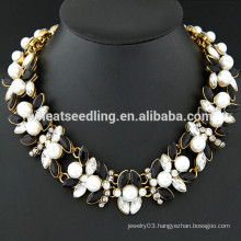 yiwu wholesale market baroque pearl necklace collar necklace for women
