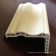 WPC Architrave at-68h12b WPC Door Frame PVC Door Architrave Laminated