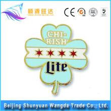 China-Abzeichen-Hersteller produzieren OEM-Metall-Pin-Abzeichen