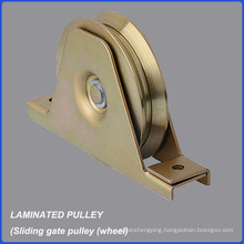 Factory Wholesale High Quality Laminated Door Pulley/Wheel