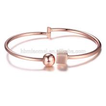 2017 heißer verkauf kupfer platin charme armband mit diamant mode frauen schmuck
