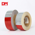 Red and White adhesive DOT-C2 Reflective Tape car sticker for truck