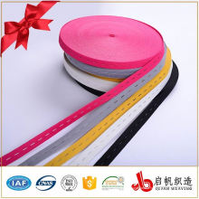 Bandes tricotées de trou de bande élastique de haute qualité oeillet coloré