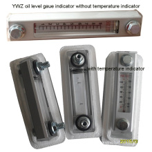 Indicador de nível de óleo mecânico Ywz com indicador de temperatura