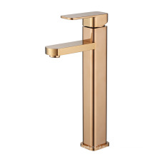 Single Handle Deck Mounted Bathroom Mixer Basin Faucet