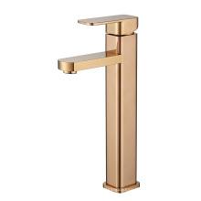 Single Handle Deck Mounted Bathroom Mixer Basin Faucet