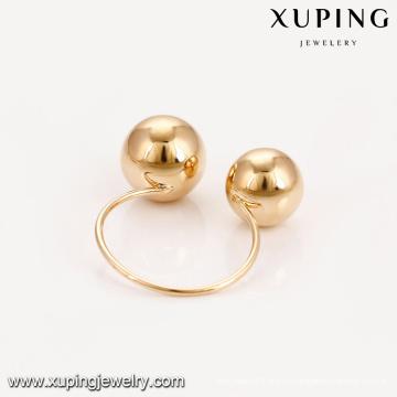 14908 Xuping новый дизайн моды оптом в Гуанчжоу фабрика 18k позолоченный женщин кольца