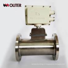 Débitmètre d'oxygène à gaz naturel alimenté par batterie
