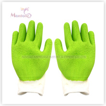 13gauge Foam Latex Palm Coated/Dipped Polyester Work Safety Gloves