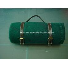 Manta de lana con soporte de PU (SSB0200)