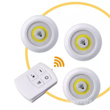 Control remoto inalámbrico COB Led Puck Light