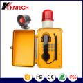 Telefone altifalante à prova de água Knsp-08L Telefone de difusão Kntech