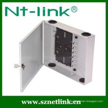 24 núcleos FTTH Caixa de junção de fibra óptica para montagem em parede