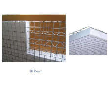 100 dan 100mm 3D Welded Wire Mesh Panel Pabrik