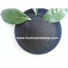 Natural leonardite source super potassium humate fertilizer