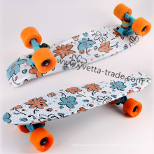 Skateboard with Water Printing (YVP-2206-5)