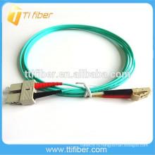 Волоконная патч-система с многомодовым оптоволоконным шнуром SC-LC