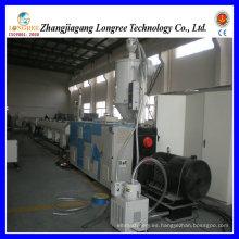 Máquina de la producción del tubo del PVC del extrusor del tubo de la fuente de agua del PVC