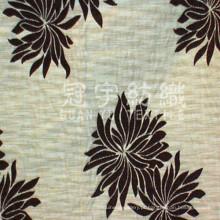 Tecido de poliéster Jacquard chenille para têxteis domésticos