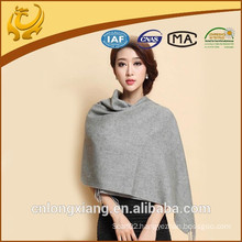 Hot Sell Fashion Plain Cashmere Pashmina Scarf With Tassel For Evening Dress
