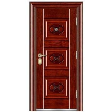 puerta de acero de la puerta de seguridad