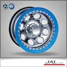 Chrome Wheels Golden Beadlock 4x4 Wheels Rims for SUV
