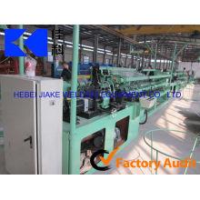 A máquina da malha do diamante / cerca galvanizada da cerca da ligação chain do fio / liga de 4m liga a cerca que faz a máquina (fábrica direta)