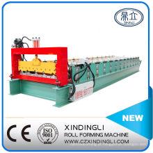 Máquina formadora de rolos de chapa metálica para telhado de cor