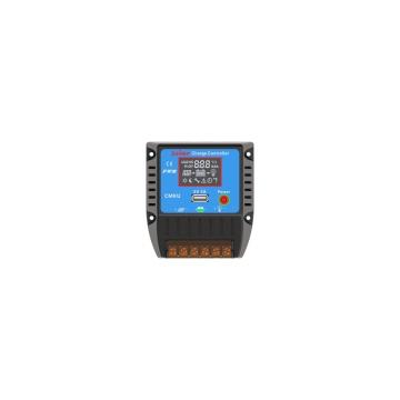PWM 12V 24V 10A Solarregler-Batterieleistungs-System-Prüfer mit LCD-Anzeige und USB