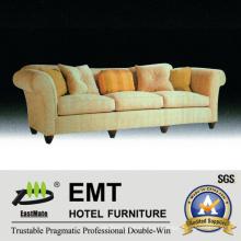 Recientemente sofá del hotel Sofá de madera de la sala de estar (EMT-SF40)