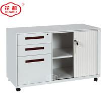Luoyang Huadu personalizado montado meia altura tambour armário de armazenamento da porta Pedestal