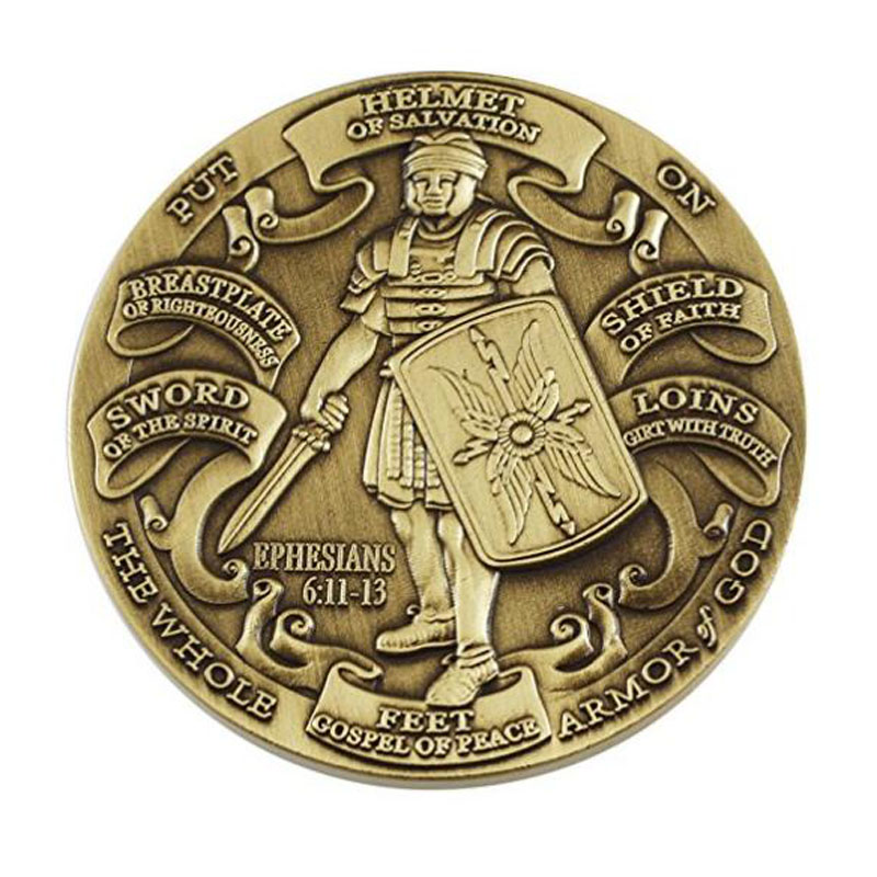 High Relief Challenge Coin