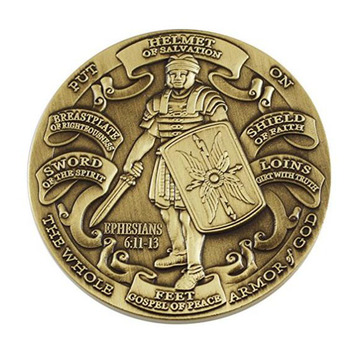 Antik Selesai Armour High Challenge Coin